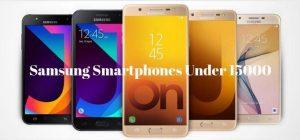 Leading 5 Samsung Smartphones Under 15000 at a Glance
