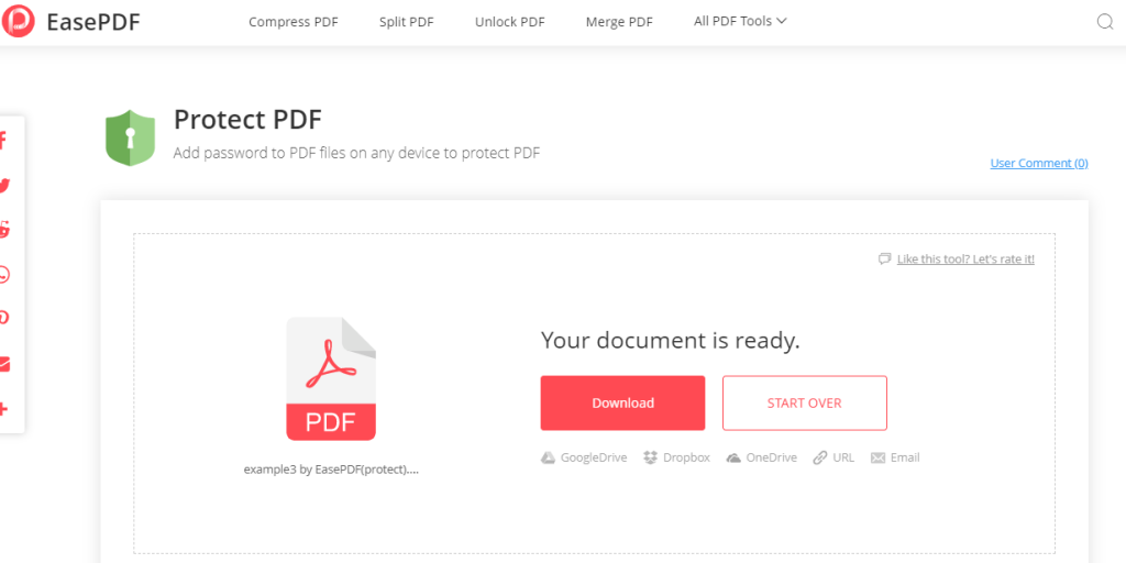 EasePDF Download PDF Files