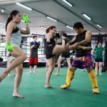 Muay Thai training for fitness