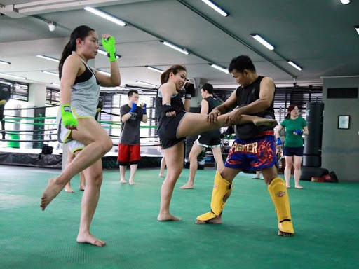 New Holiday with Muay Thai training for fitness in Thailand