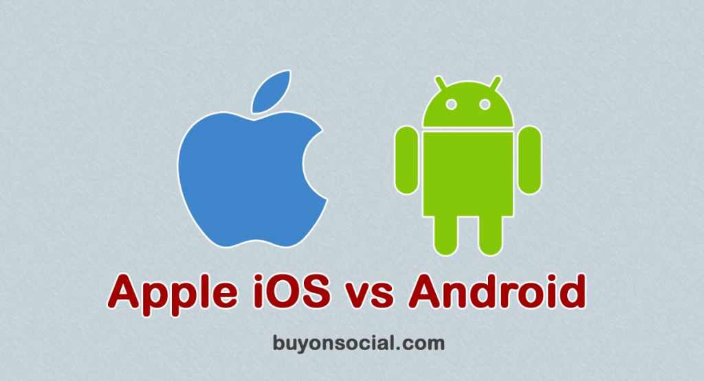 Apple iOS vs Android