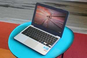 """ASUS Chromebook C202 Laptop- 11.6"""""""