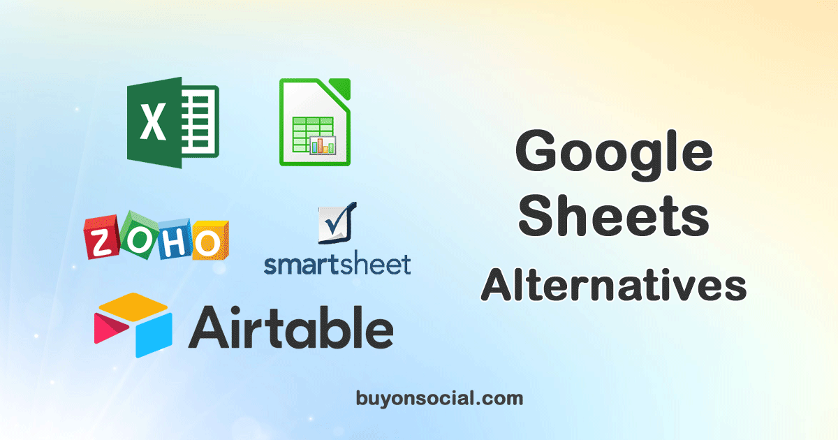 Top 5 Google Sheets Alternatives with Ultimate Guide in 2021