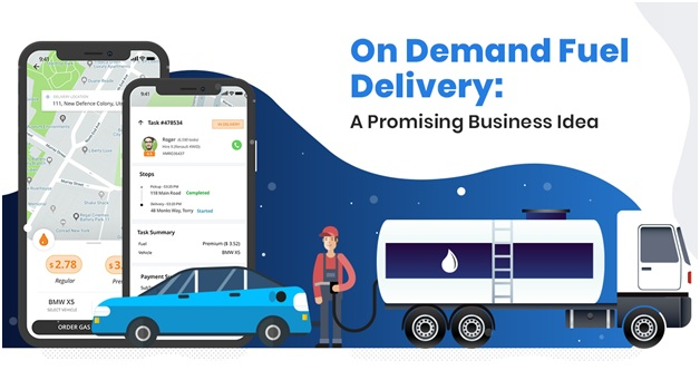 How On-Demand Food Delivery App Can Help The Fuel Delivery Industry