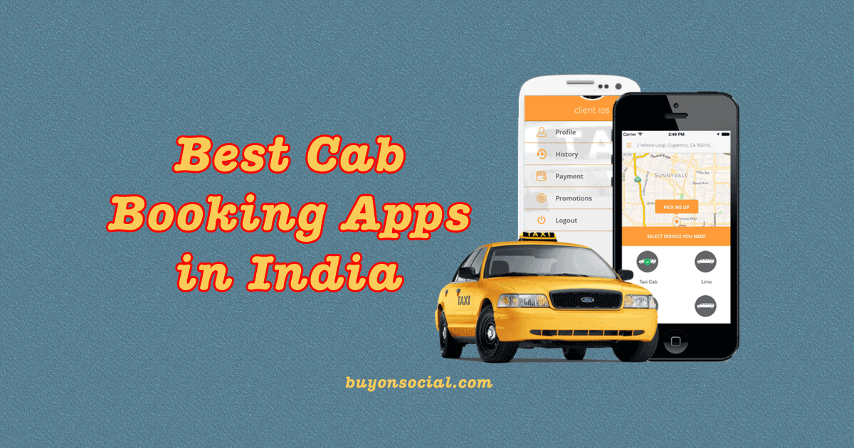 Top 5 Best Cab Booking App in India in 2021