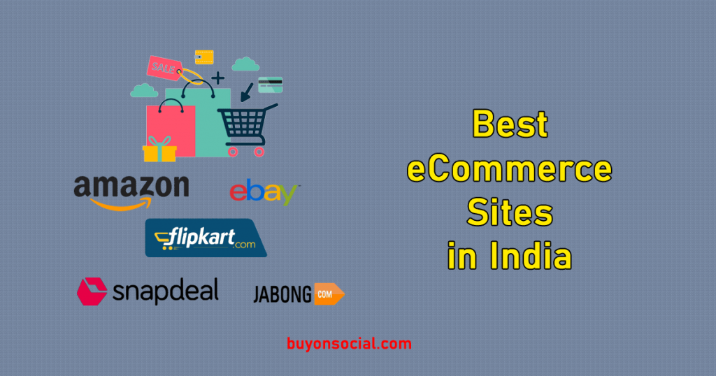 Best ecommerce Sites in India