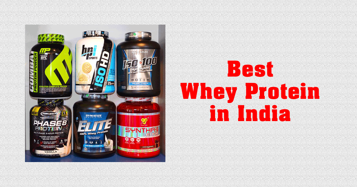 Top 5 Best Whey Protein in India with the Ultimate Health Value