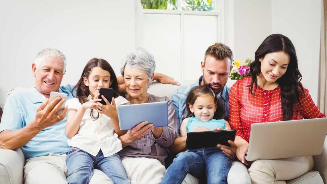 Internet Bundles For a Family of Four or More